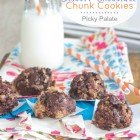 No-Bake Biscoff Chocolate Chunk Cookies
