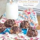 No-Bake Biscoff Chocolate Chunk Cookies