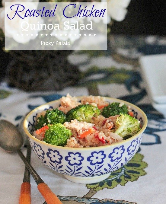 Roasted Chicken Quinoa Salad 1 text