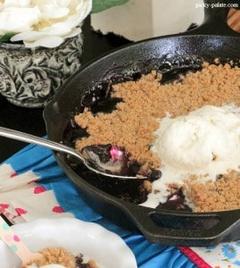Skillet Berry Crumble 4t