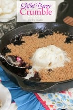 Skillet Berry Crumble plus a Giveaway!