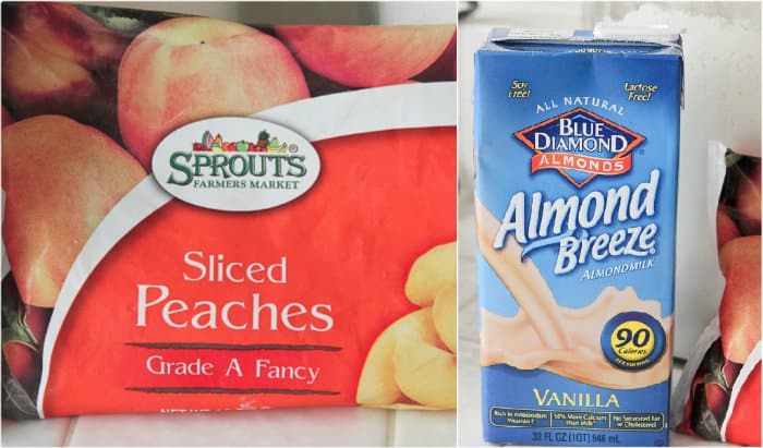 Peaches and Cream Cinnamon Spice Frosty - Picky Palate