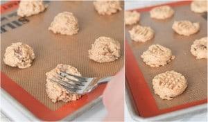 pressing cookies