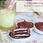 Chocolate Oreo Buttercream Cups