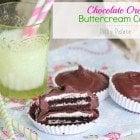 Chocolate Oreo Buttercream Cups