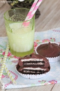 Chocolate Oreo Buttercream Cups 6