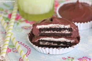 Chocolate Oreo Buttercream Cups 7