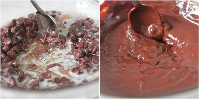 Pumpkin Cream Cheese Oreo Chunk Brownies - Picky Palate