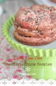 Cany Cane Oreo Chocolate Chunk Cookies 1 t
