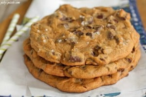Giant Salted Pumpkin Molasses Chocolate Chunk Cookies 3