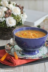 Hearty Chicken Pumpkin Soup 1