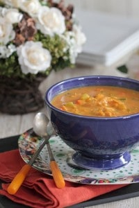 Hearty Chicken Pumpkin Soup 3