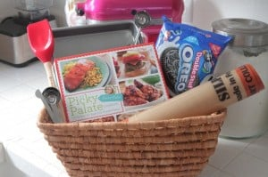 Picky Palate Cookbook Basket