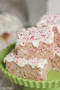 Candy Cane Crunch Krispie Treats 4