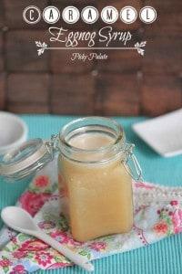 Caramel Eggnog Syrup 2 t