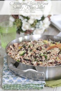 Chicken and Black Bean Smoky Rice Skillet 3t