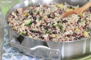 Chicken and Black Bean Smoky Rice Skillet 4