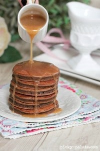 Chocolate Egg Nog Pancakes 4