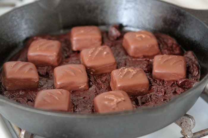 skillet brownies
