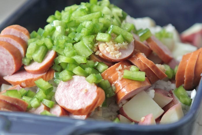 Hillshire Farm Sausage and Potato Bake - Picky Palate
