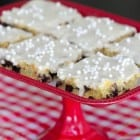 Banana Chocolate Chip Sheet Cake with Sweet Maple Icing