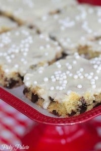 Banana Chocolate Chip Sheet Cake 2