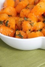 Image of Honey Thyme Roasted Butternut Squash