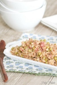 Pancetta and Sweet Pea Cheesy Farro 3