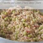 Pancetta and Sweet Pea Cheesy Farro