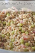 Pancetta and Sweet Pea Cheesy Farro
