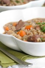 Image of Slow Cooker Beef and Barley Soup