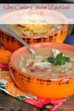 Slow Cooker Chicken Enchilada Soup 2t