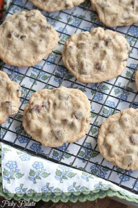 Soft Batch Style Chocolate Chip Cookies 4