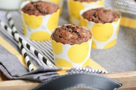 Dulce de Leche Chocolate Banana Muffins 4
