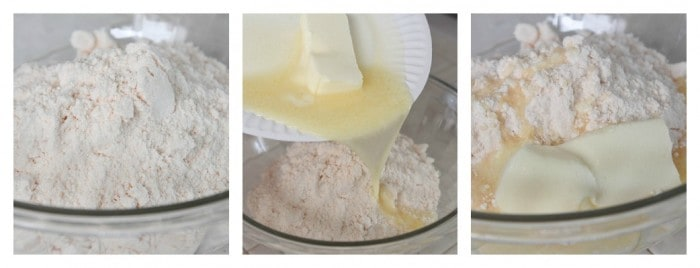 Preparing cake bar batter