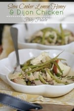 Slow Cooker Lemon Honey and Dijon Chicken Dinner