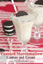 Toasted Marshmallow Cookies and Cream Milkshake 3t