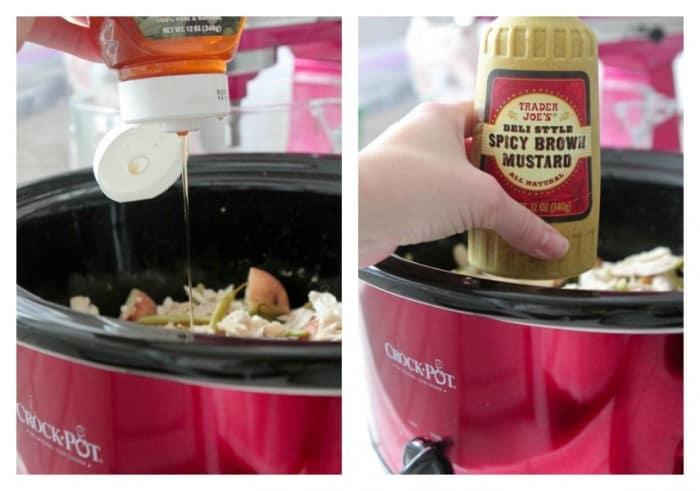 Slow Cooker Lemon Honey and Dijon Chicken Dinner - Picky ...
