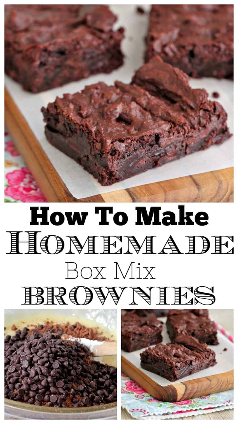 brownie recipe