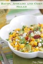 Bacon, Avocado Corn Salad