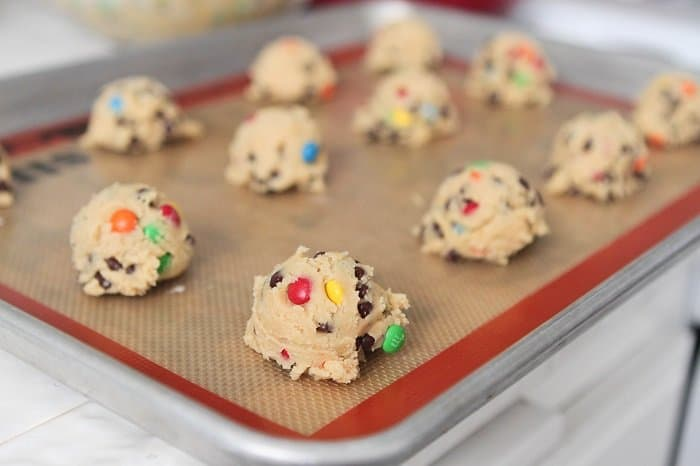 M and M Cookie Dough Picky Palate