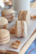 Image of Cinnamon Toast Crunch Macarons