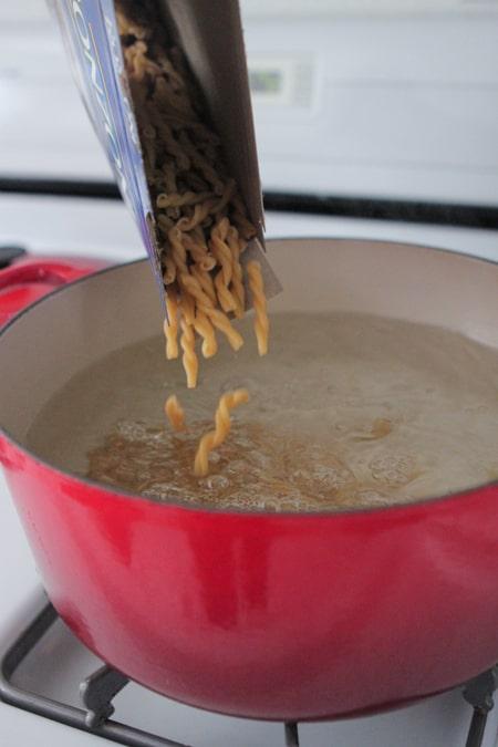Creamy Chicken Fajita Pasta-2