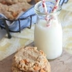 Brown Butter Oatmeal Butterscotch Cookies