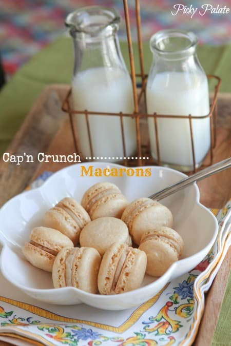 Captain Crunch Macarons by Picky Palate