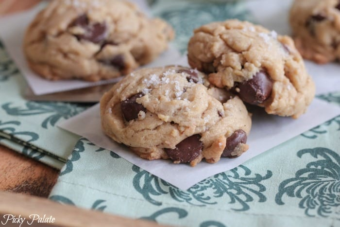 Salted Brown Butter Dark Chocolate Chip Cookies-18t
