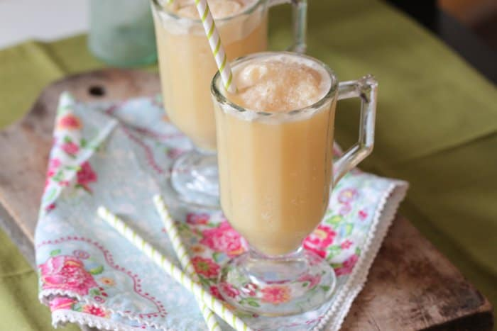 Honey and Orange Creamsicle Slushy by Picky Palate