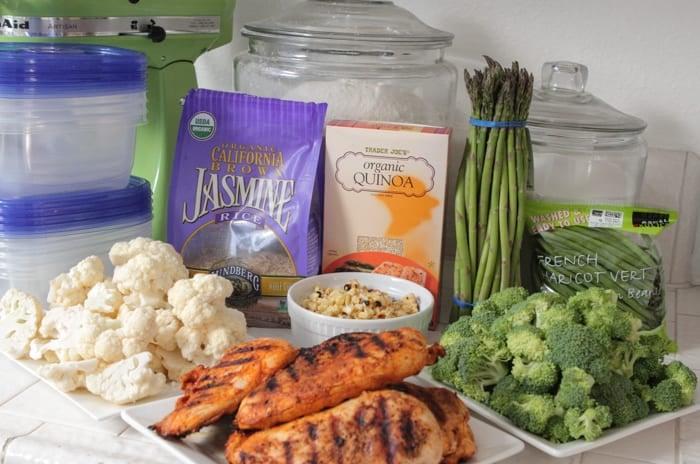 GrilledChickenVeggieBowls-Meal Prep-2