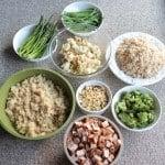 Grilled Chicken Veggie Bowls - Meal Prep