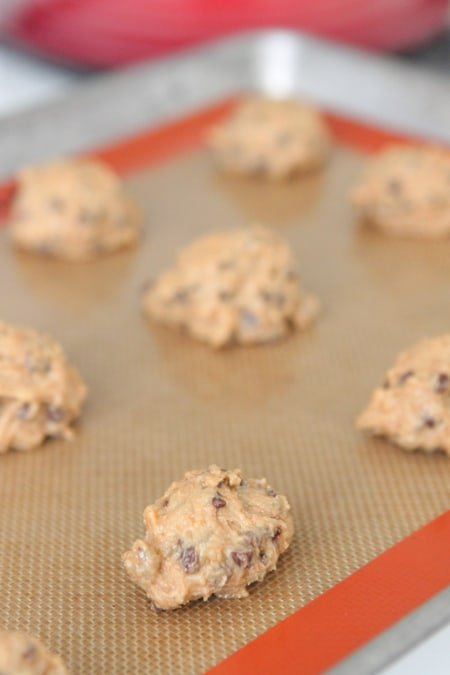 Peanut Butter and Honey Whole Wheat Chocolate Chip Cookies ...